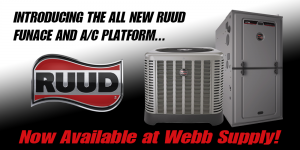 RUUD Funace and A/C Platform - Available Now