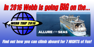 Webb Trip 2016 - Allure of the Seas