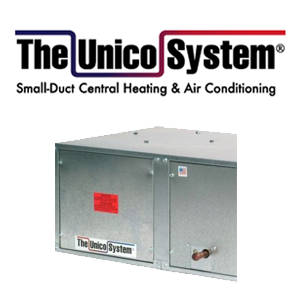 Unico - Small Duct Control Heating & Air Conditioning